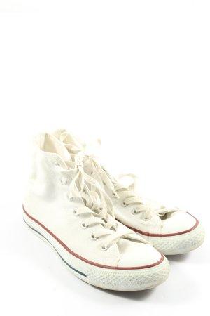 Converse High Top Sneaker weiß Motivdruck Casual-Look