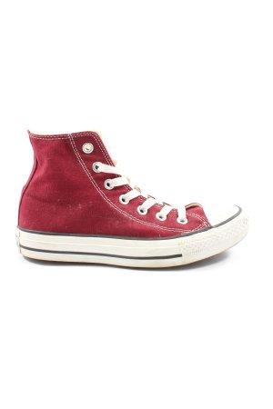 Converse High Top Sneaker rot Elegant