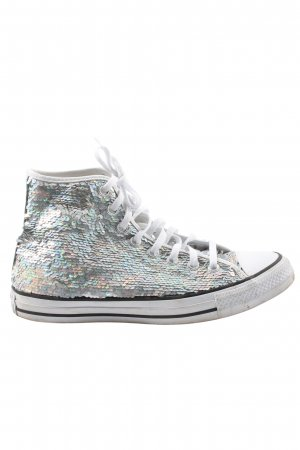 Converse High Top Sneaker silberfarben Casual-Look