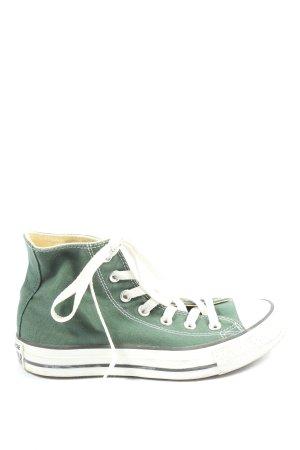 Converse Wysokie trampki zielony W stylu casual