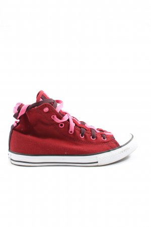 Converse High Top Sneaker rot sportlicher Stil