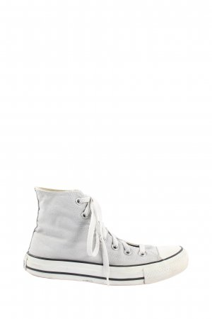 Converse High Top Sneaker hellgrau Casual-Look