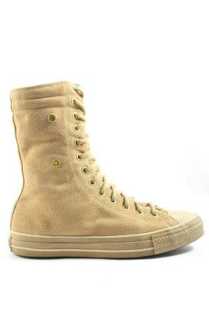 Converse Sneaker alta marrone stile casual