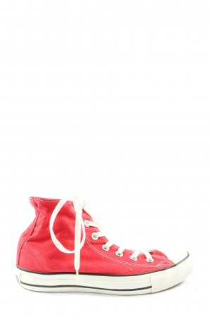 Converse High Top Sneaker rot Casual-Look