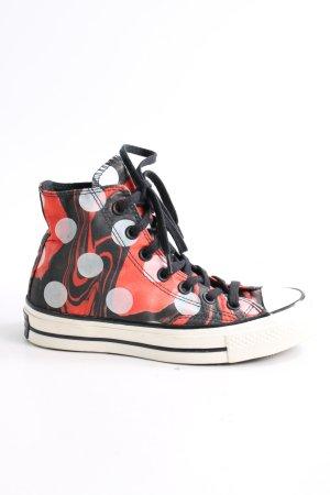 Converse High Top Sneaker abstraktes Muster sportlicher Stil