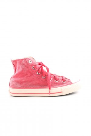 Converse High Top Sneaker pink-natural white casual look
