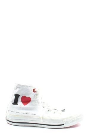 Converse Wysokie trampki Wydrukowane logo W stylu casual