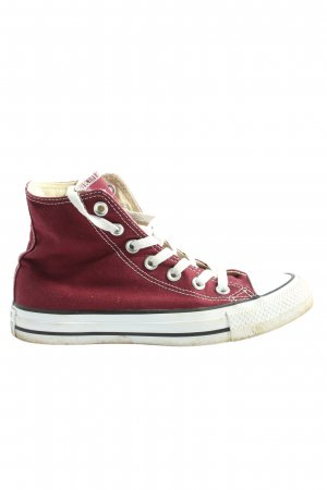 Converse High Top Sneaker rot-weiß Casual-Look
