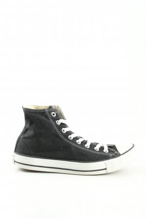 Converse High Top Sneaker black casual look