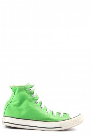 Converse High Top Sneaker grün Casual-Look