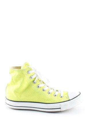 Converse High Top Sneaker grün-weiß Casual-Look