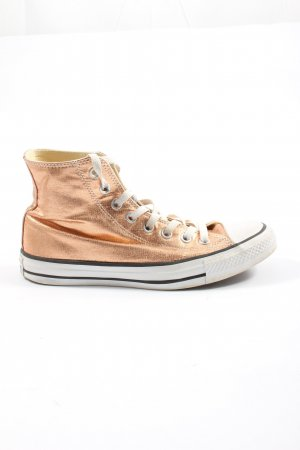 Converse High Top Sneaker gold-colored-white casual look