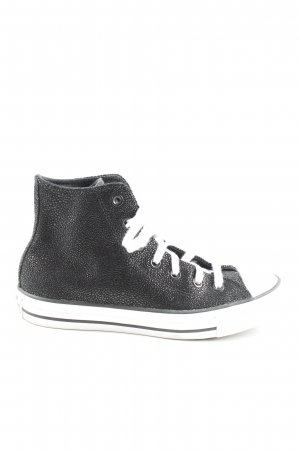 Converse High Top Sneaker black-white casual look