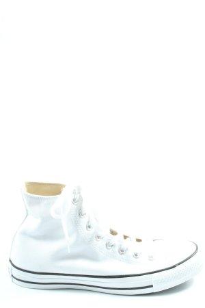 Converse Wysokie trampki biały W stylu casual