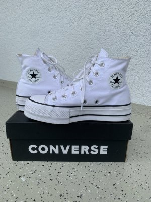 Converse high top weiß