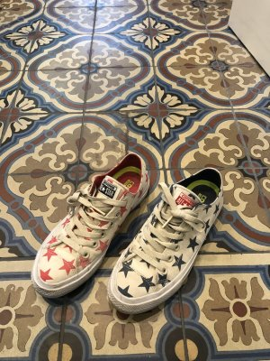 Converse in Amerikastyle