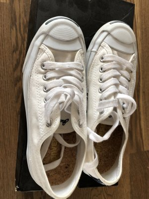 Converse Jack Purcell weiss sneakers in Gr. 36