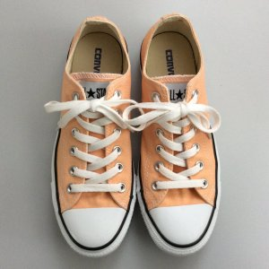 Converse Lace-Up Sneaker nude-white
