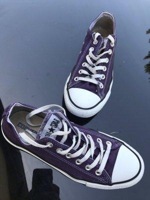 Converse low, Gr 39, schönes Violett