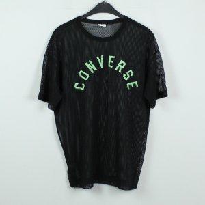 Converse Top maillé noir-vert fluo