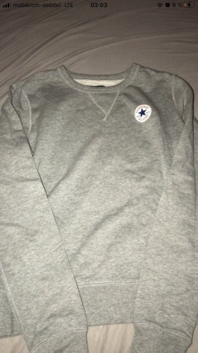 Converse Pull tricoté gris clair