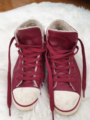 Converse rot Leder