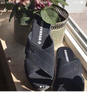 Converse Sandalias de tacón con plataforma negro