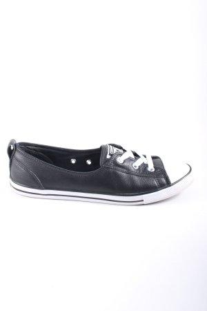 Converse Slip-on Sneakers black-white casual look