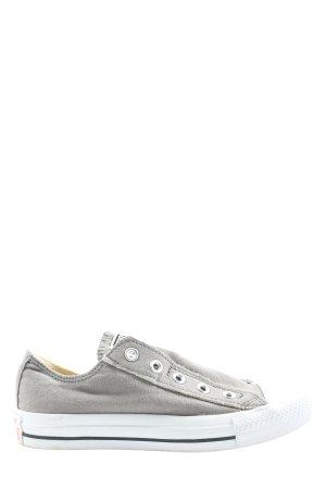 Converse Slip-on Sneakers light grey casual look