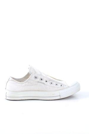 Converse Basket slip-on blanc style décontracté