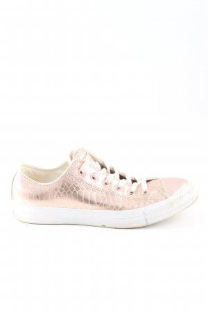Converse Schnürschuhe pink Animalmuster Casual-Look