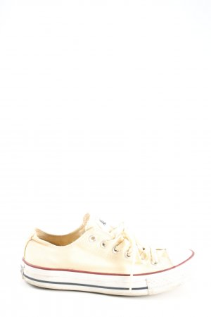 Converse Lace Shoes cream casual look