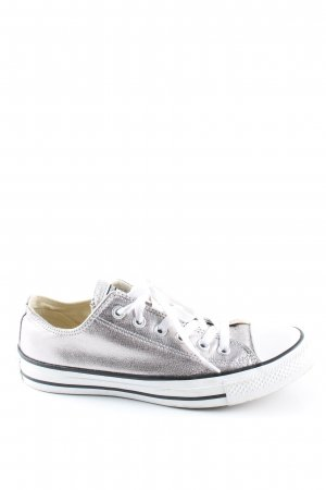 Converse Lace-Up Sneaker silver-colored-white casual look