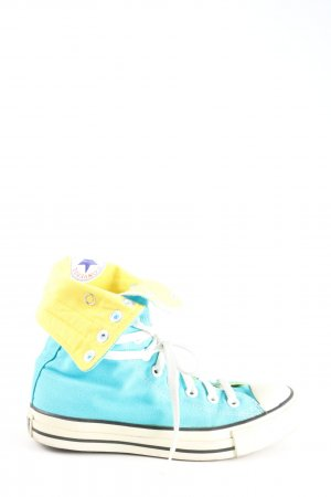 Converse Lace-Up Sneaker turquoise casual look