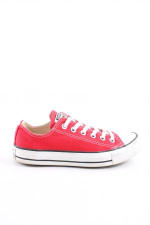 Converse Schnürsneaker rot Casual-Look