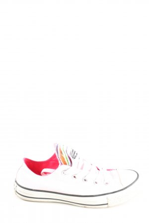 Converse Lace-Up Sneaker white casual look