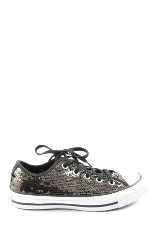 Converse Schnürsneaker bronzefarben-schwarz extravaganter Stil