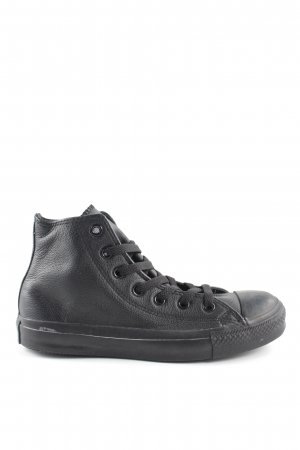 Converse Lace-Up Sneaker black casual look