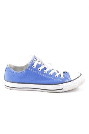Converse Schnürsneaker blau Casual-Look