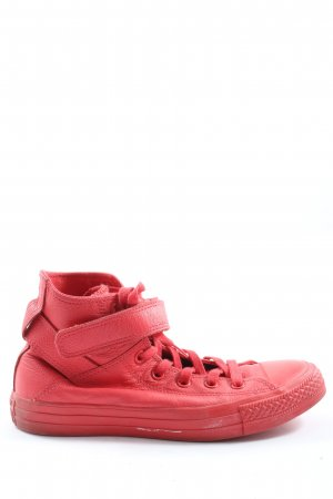 Converse Schnürsneaker rot Allover-Druck Casual-Look