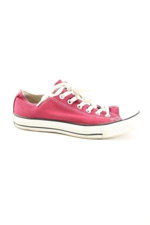 Converse Schnürsneaker pink-weiß Casual-Look