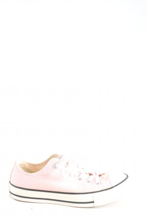 Converse Lace-Up Sneaker pink casual look