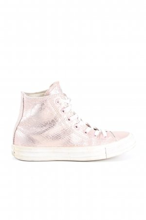 Converse Lace-Up Sneaker pink allover print casual look