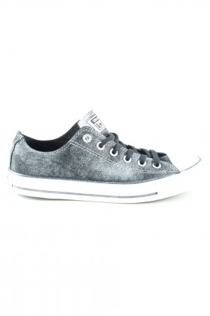 Converse Lace-Up Sneaker blue-light grey flecked casual look