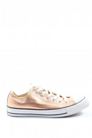 Converse Lace-Up Sneaker gold-colored-white casual look