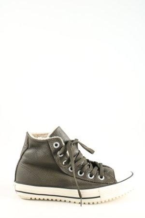 Converse Schnürsneaker khaki-weiß Casual-Look