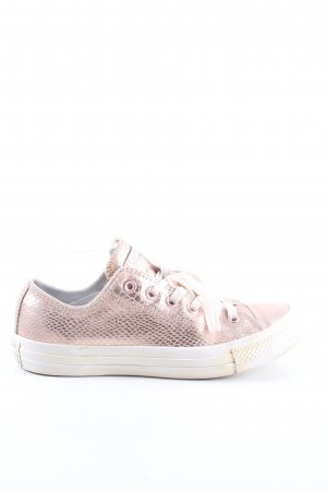 Converse Schnürsneaker pink Allover-Druck Casual-Look