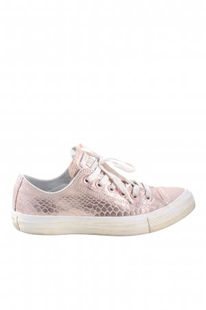 Converse Schnürsneaker pink Animalmuster Casual-Look