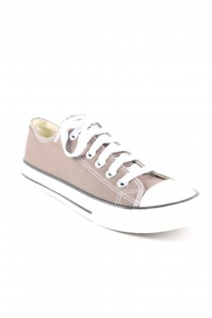 Converse Lace-Up Sneaker grey brown athletic style
