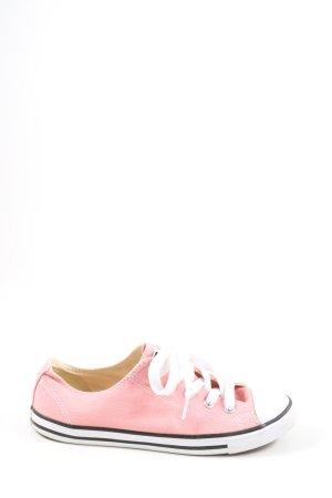 Converse Sneaker stringata rosa-bianco stile casual
